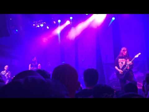Cover Your Tracks - Cages (Ire Tour Live at Mercury Ballroom 5/5/16)