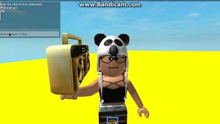 Id code for Tag you're It! (ROBLOX)