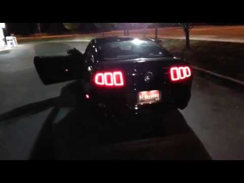 2014 Ford Mustang sequential turn signal and led tail lights