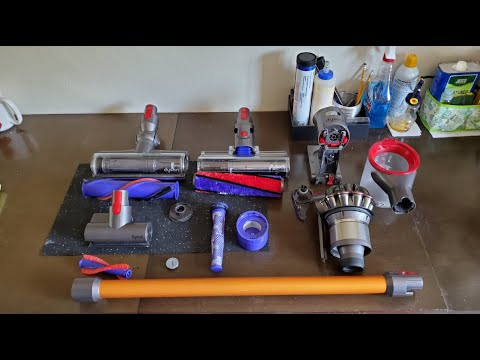 Dyson V8 Absolute Cordless Vacuum Tune Up - Cleaning and Maintenance Tips