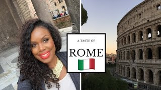 My Weekend in ROME! | Italy Travel Vlog {Part 3/3}