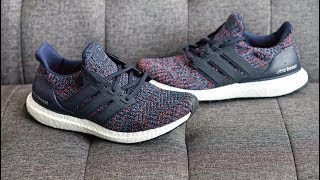 Review: Adidas Ultra BOOST 4.0 (Navy Multi-Color) BB6165