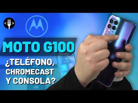 Moto G100, un teléfono que quiere ser tu Chromecast y consola al mismo tiempo | Reseña