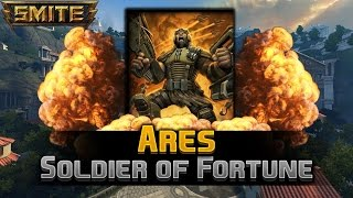 smite gameplay pl 114 ares soldier of fortune   hd 60 fps