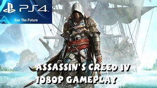 Assassin's Creed IV: Black Flag PS4 Gameplay Part 1 - 1080P HD