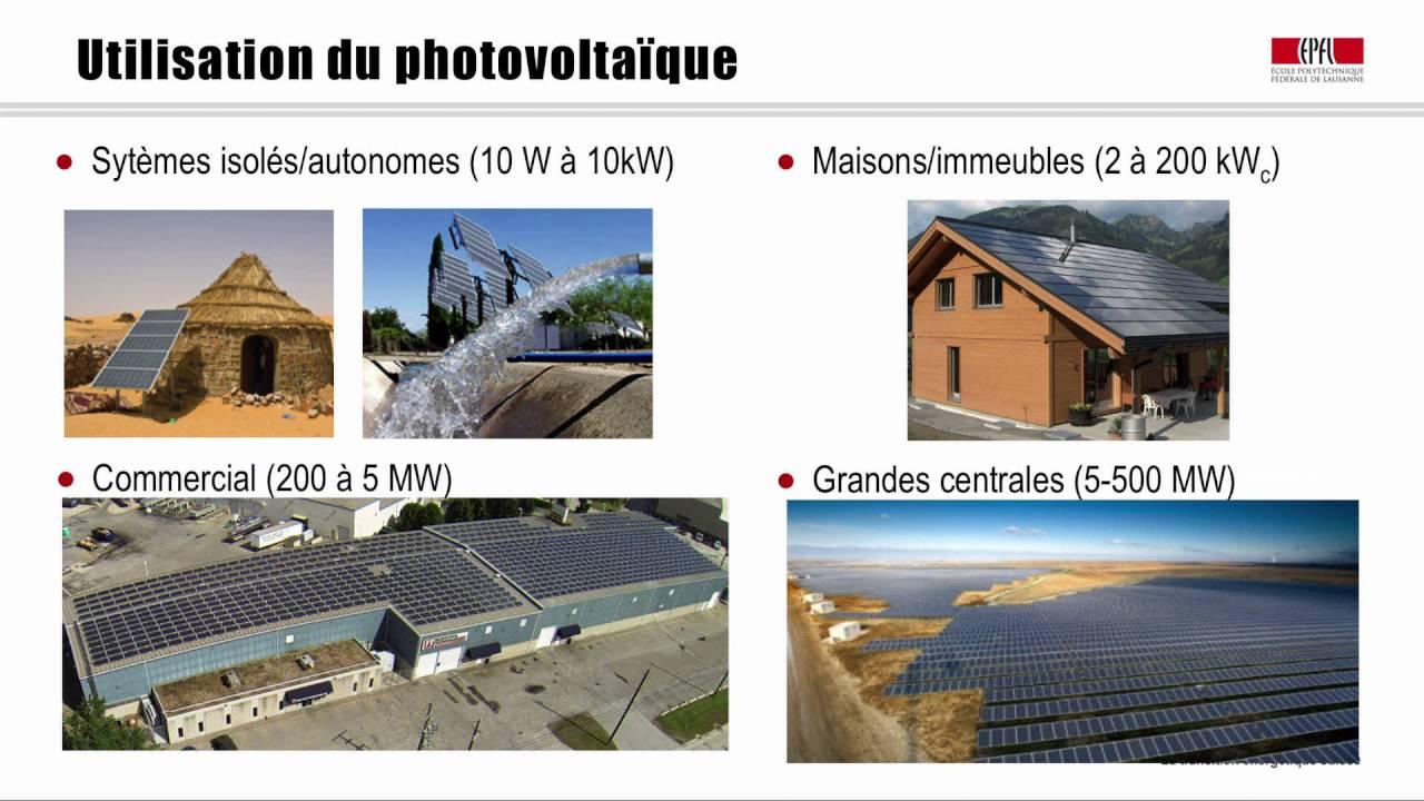 Le U00e7on 17  Le Solaire Photovolta U00efque Et Le Solaire