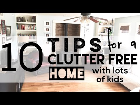 10 Tips for a Clutter Free Home | Habits & Tips | My Routine