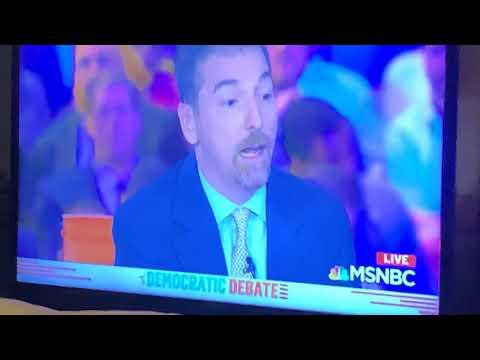 MSNBC Has Mic Problem During Democratic Debate