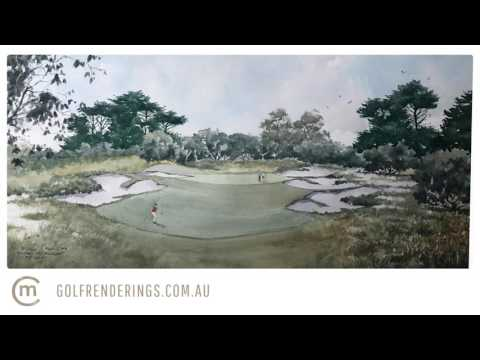 Royal Melbourne 5th Hole