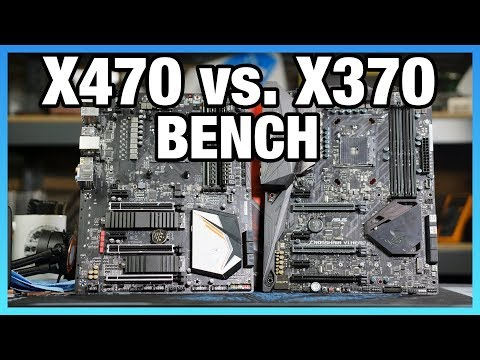 X470 vs. X370 Chipset Differences, Benchmark, & Specs Comparison