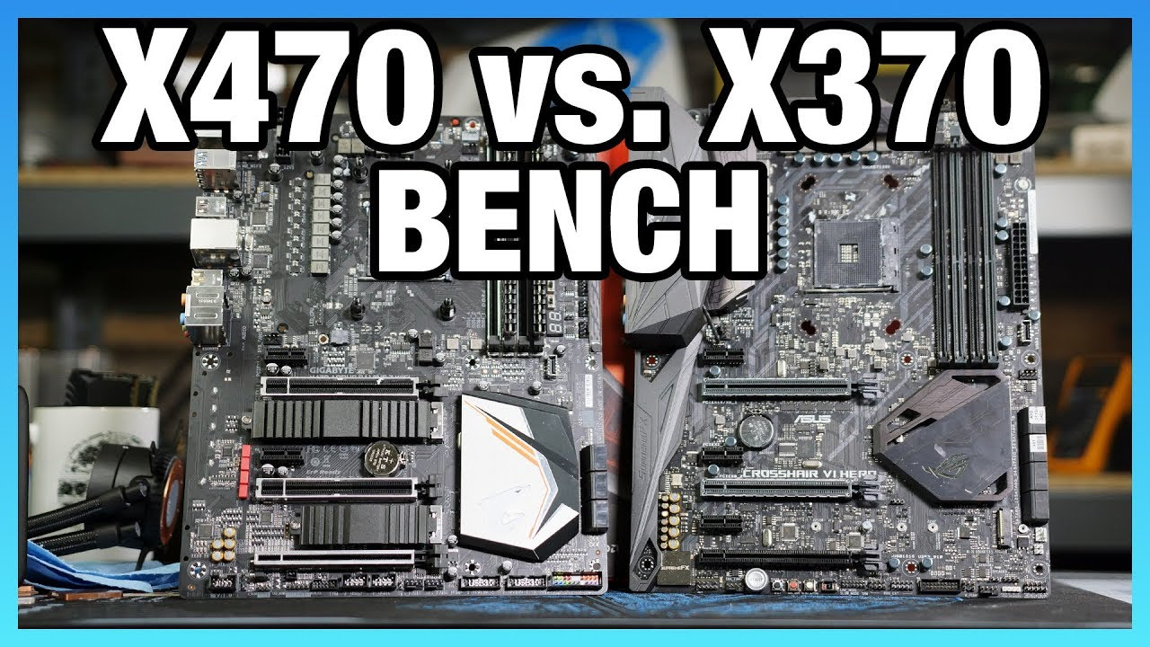 X470 vs  X370 Chipset Differences, Benchmark, & Specs Comparison