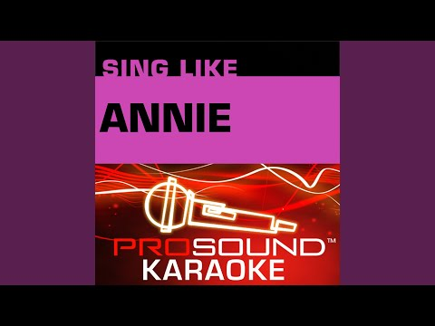 It's A Hard Knock Life (Karaoke Lead Vocal Demo) (In the Style of Annie)