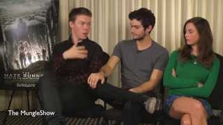 The Maze Runner Interview clip