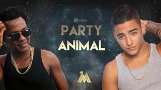 Party Animal Remix - Charly Black ft. Maluma - J balvin - kevin roldan (lyric video)