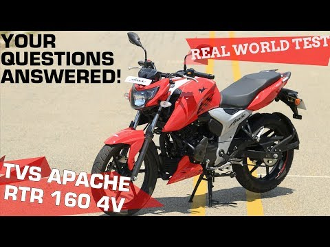 TVS Apache RTR 160 4V - Real World Road Test | ZigWheels.com