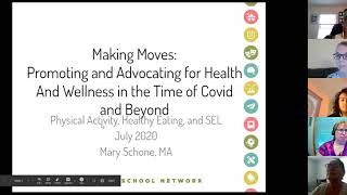 Making Moves: Promoting and Advocating for Health and Wellness in Time of Covid