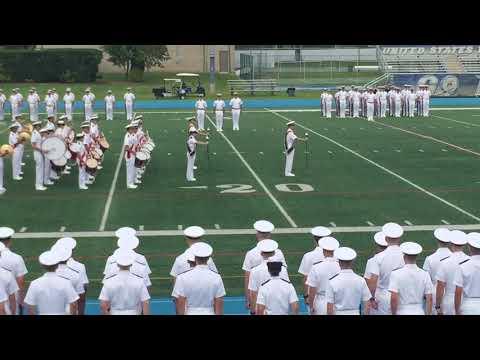 US Merchant Marine Academy Band-Anchors Aweigh