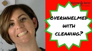 Where to start cleaning a house