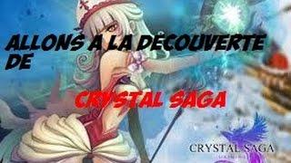 Crystal Saga Découverte jeux de role PC