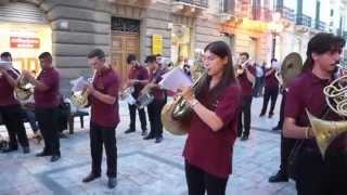 """"""" 4 Maggio  """" Marcia militare - Orchestra Giovanile Fe.Ba.Si"""