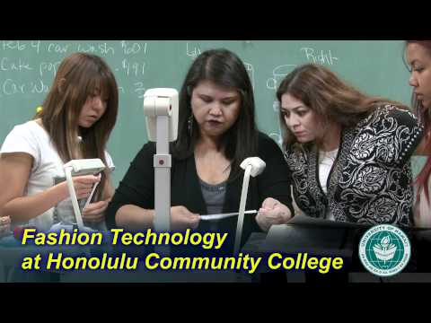 Fashion Technology at Honolulu Community College