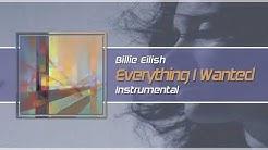 """Billie Eilish - """"everything i wanted"""" Instrumental/Karaoke"""