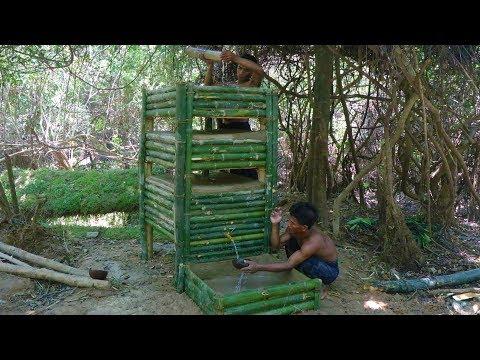 Build water filter tank