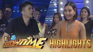 It's Showtime PUROKatatawanan: Vhong Navarro challenges Bianca Gonzales