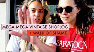 WALK OF SHAME + DIKKE VINTAGE SHOPLOG + WEEKVLOG