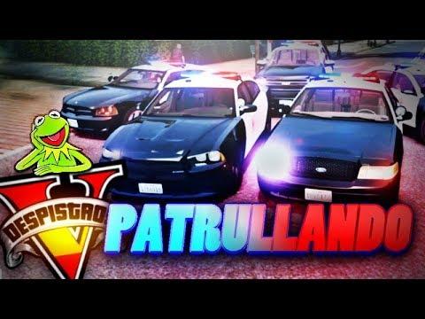GTA V Life DESPISTAOS ►Patrullando la ciudad►RolePlay Español GTA 5 Real life 2.0