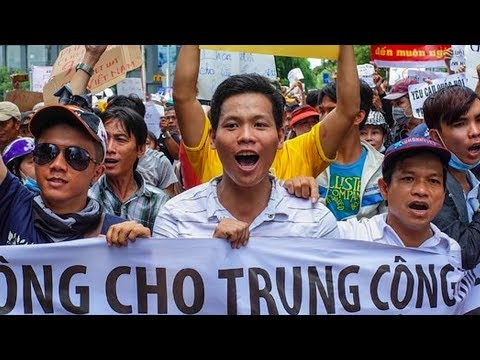 Violent ANTI-CHINA Protests Break Out in VIETNAM