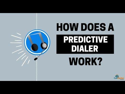 How Does CallCenterHosting's Predictive Dialer Work