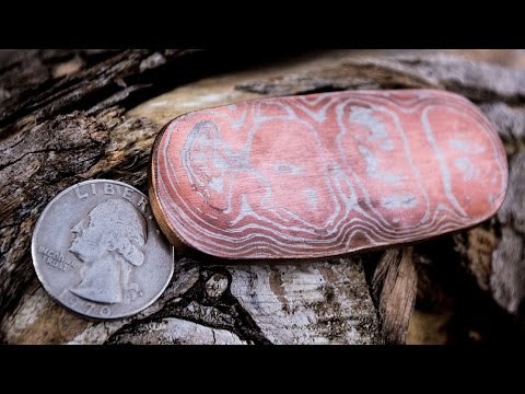 How To Forge Copper and Nickel Mokume Gane With Coins