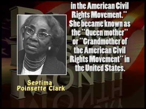 BHM Septima Poinsette Clark