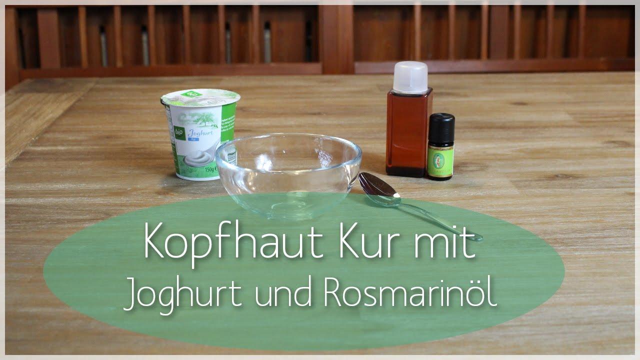 Joghurt gegen trockene haare