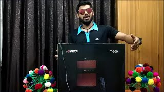 F&D T-200X sound bar | soundtest| unboxing| review should you buy? F&D T-200X |Bluetooth 2.1 speaker