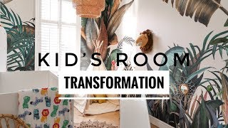Kid's Room Transformation | Ad (Gifted Items)