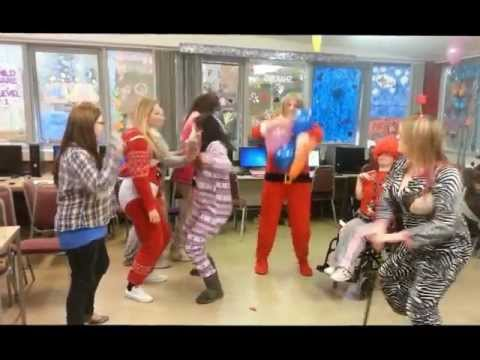 The Harlem Shake by Health & Social Care Level 2 Group