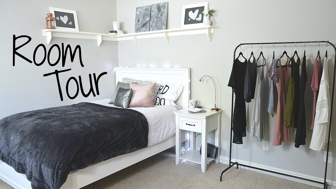 My Room Tour 2017 Modern and Minimalist