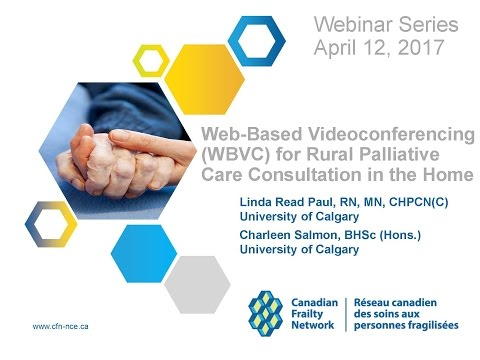 2017 04 12 Web Based Videoconferencing (WBVC) for Rural Palliative Care Consultation in the Home
