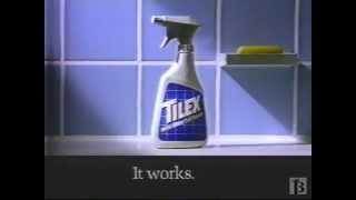 Tilex Cleaner Commercial 1991