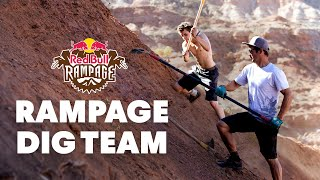 Rampage Dig Teams Reveal Tools of the Trade