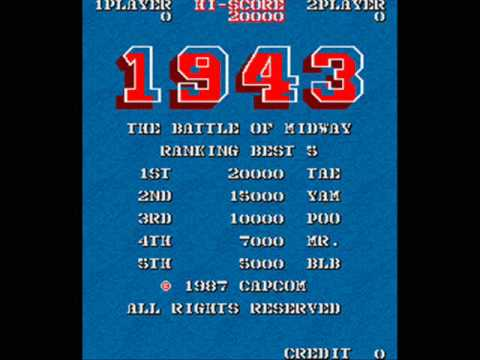 1943  The Battle of Midway Arcade Music