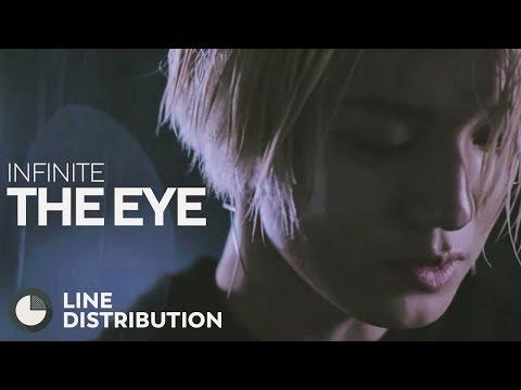 INFINITE - The Eye (Line Distribution)