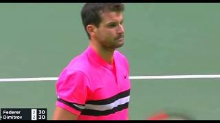 Roger Federer vs Grigor Dimitrov - Rotterdam 2018 Final Highlights