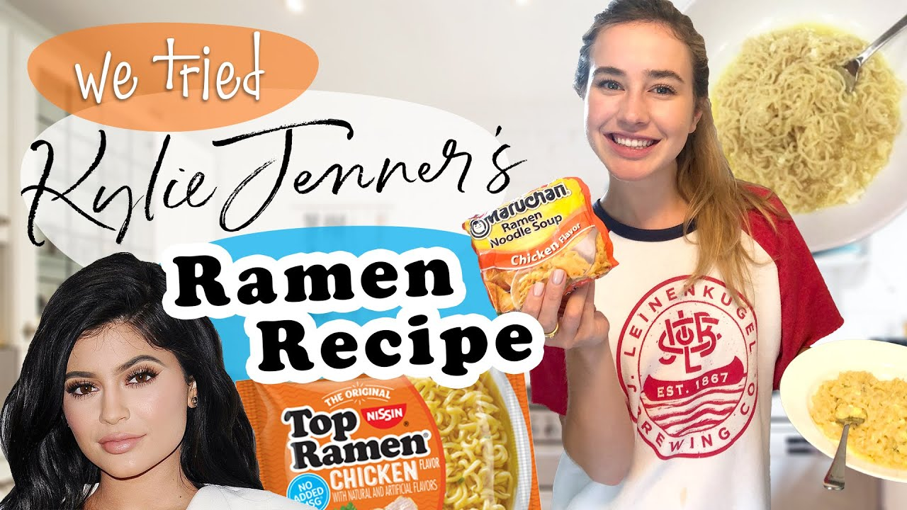 We Tried Kylie Jenner's Ramen Recipe | Ramen Hacks | We Tried It