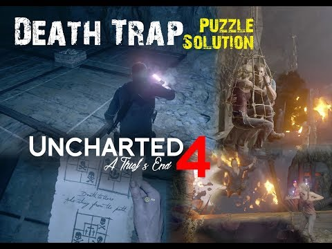 Uncharted 4: Chapter 19 Death Trap Solution PS4 2018