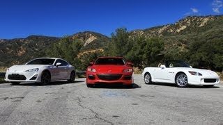 FRS (GT86, BRZ) vs RX8 vs S2000 Review - Everyday Driver