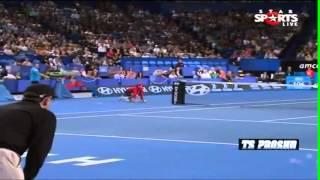 Novak Djokovic FUNNY MOMENTS HOPMAN CUP 2013