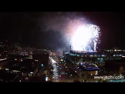 Coors Field | Fireworks July 10th, 2015 | Colorado Rockies Stadium